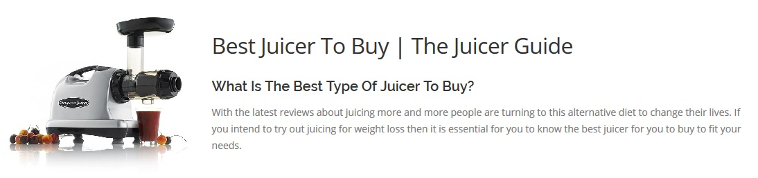 Juicer Reviews the juicer guide