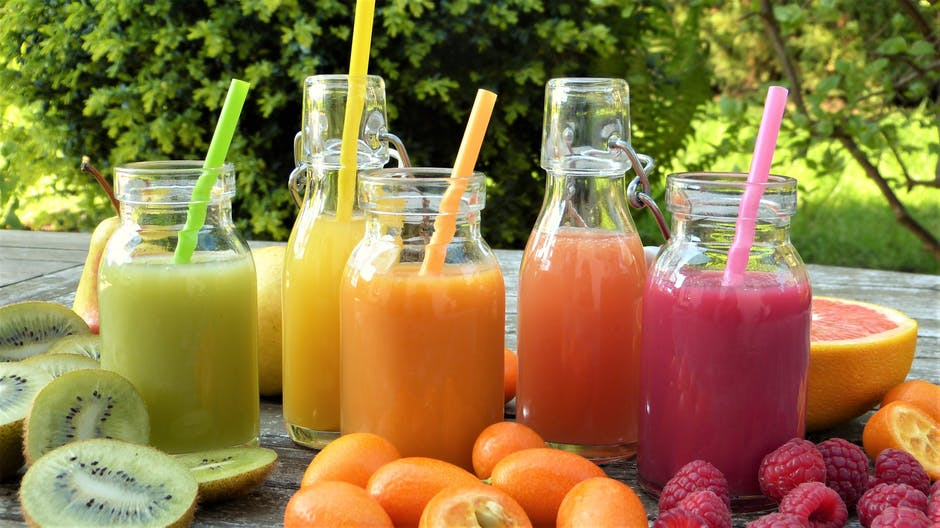 Colours of the Rainbow Juice